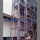Elevatore verticale idraulico della guida di guida