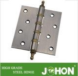 """Bisagra del hardware de la puerta del acero o del hierro (4 accesorios de los muebles """" X3.5 """")"""