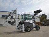 Carregador telescópico pequeno do Backhoe da roda da maquinaria de exploração agrícola de China