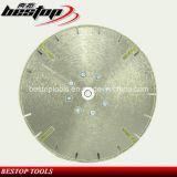 Electroplated Hoja de sierra de la rueda de corte de diamante para mármol