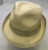 Mode été Hat Fedora unisexe de paille