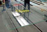 薄板にされた強くされた低い鉄超明確なガラス