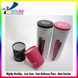 Diseño elegante y tubo de estaño de cabello Caja de herramientas