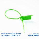 Sigillo di plastica tagliato facile di obbligazione della mano con l'orecchio Ls-117 della rottura