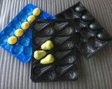 PPペットスーパーマーケットのプラスチック使い捨て可能な果物と野菜の表示包装の皿