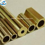 Tubo rettangolare quadrato d'ottone/prezzo rettangolare di rame del tubo del profilato quadro per tubi per chilogrammo