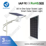 Lâmpada de Rua LED solares com Controlador de Luz