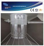 Riscaldamento verticale di plastica ed impastatrice con 10 anni di fabbrica