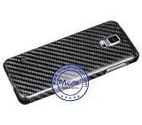 Cubierta de la caja del teléfono de la fibra de carbono real para Samsung Galaxy S5
