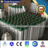 En ISO7866 휴대용 알루미늄 실린더 압축 산소 실린더