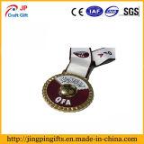 スポーツのためのカスタム高品質亜鉛合金の金属メダル