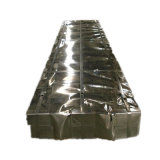 PPGIによって波形を付けられる鋼板の電流を通された金属の屋根ふきの価格