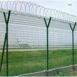 Suministro de la fábrica de seguridad recubiertos con PVC Valla soldada