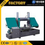 Vente d'usine colonne double horizontale de la machine de sciage de la bande de métal