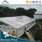 Facy Waterproof Transparent PVC Fabric 25X35m Wedding Marquee Tent für Garten Party