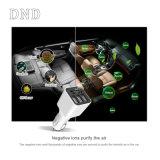 Zuiveringsinstallatie van de Lucht van de Auto Ionizer van de Lader van de Auto van drie Havens USB de Mini Draagbare