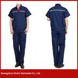 Combinaison pour l'uniforme fonctionnant d'ingénieur de vêtements de travail de gisement de pétrole d'industrie (W33)