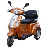 500W48V 3 바퀴 전기 무능한 스쿠터 Trike 의 호화로운 안장 (TC-018)를 가진 성숙한 전기 세발자전거