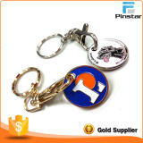 Metal de encargo al por mayor Keychain, Kingring