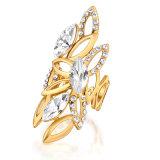 De imitatie Ring van de Vinger van de Fabriek van de Juwelen van de Manier In het groot Bijkomende Lange