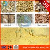 smerigliatrice di schiacciamento di legno del mais della macchina dell'alimentazione del mulino a martelli del grano 1-5t