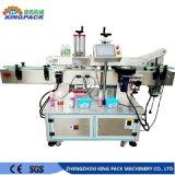 De volledig Automatische Ronde Vierkante Lege Machine van de Etikettering van de Fles van het Sap