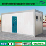 야영 호텔 사무실 Domitory를 위한 모듈 Prefabricated 선적 컨테이너 집