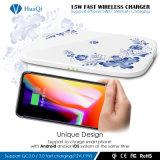 最も新しい解決5With7.5Wは無線移動式充電器Samsung S8/S8とおよびiPhoneのための8/8 Plus/X絶食する