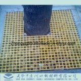 Prf composite en fibre de verre coloré GRP Arbre de couvercle de grille