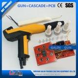 Cascade +PCB + canon jaune d'enduit de poudre