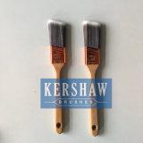 Pinceau (brosse de ceinture, brosse plate conique de filament avec la poignée en bois dure)
