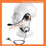 Écouteur de crochet d'oreille pour Motorola 2 radios de Pin