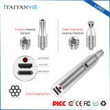 Taitanvs Lpro 300mAh는 코일 세라믹 유리제 난방 전자 담배 건조한 나물 Vape 이중으로 한다
