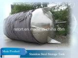 Tanque de armazenamento de óleo 1000L Tanque de armazenamento Ss304 tanque de armazenamento de aço inoxidável para óleo
