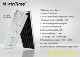 Einteilige intelligente Zeit-Steuersolarstraßenlaterne mit PIR Fühler