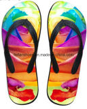 Dernières Design 3D Printing Casual Flip Flop Slipper Shoes (FF68-12)