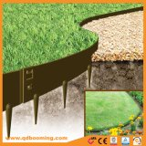 Abbellimento degli anelli di albero verdi del giardino di colore del Brown