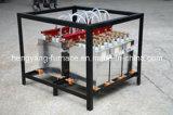 Contenitore di condensatore del forno di fusione di induzione