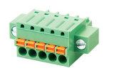 Blocchetto terminali alimentabile del PWB di RoHS del cUL dell'UL (WJ15EDGKDM-3.5/3.81mm)