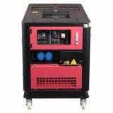 8kw Zylinder-wassergekühlter grosser Dieselgenerator EV80 des einphasig-2