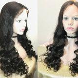 Parrucche piene dei capelli del Virgin delle parrucche del merletto dei capelli umani con il bambino Hairwigs