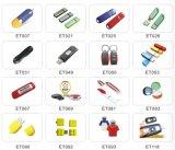 Memória por atacado da movimentação do flash do USB da fábrica com logotipo de marcagem com ferro quente