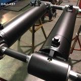 De aangepaste Dubbelwerkende Telescopische Cilinder van de Olie van de Zuigerstang Hydraulische