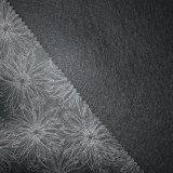 Couro clássico impresso flor do PVC do papel de parede para a decoração Home