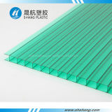 청동색 Crystal 또는 Brilliant Plastic Polycarbonate Hollow Roof Slab