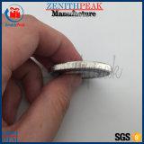 オフセット印刷のロゴの金属の磁石は硬貨のステッカーを遊ばす