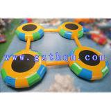 고품질 활발한 팽창식 물 Trampoline 게임