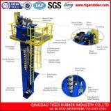 Banda transportadora industrial minera del elevador de compartimiento