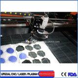 Logotipo de marca registrada de pano câmara CCD de padrão de máquina de corte a laser de CO2