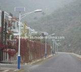8m 9m 10m pólo 60W lâmpada LED Rua Solar Luz para a auto-estrada